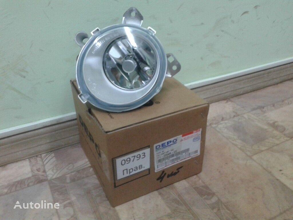 Perednyaya protivotumannaya fara (lev.) Scania (Novyy/Tayvan) headlamp for truck