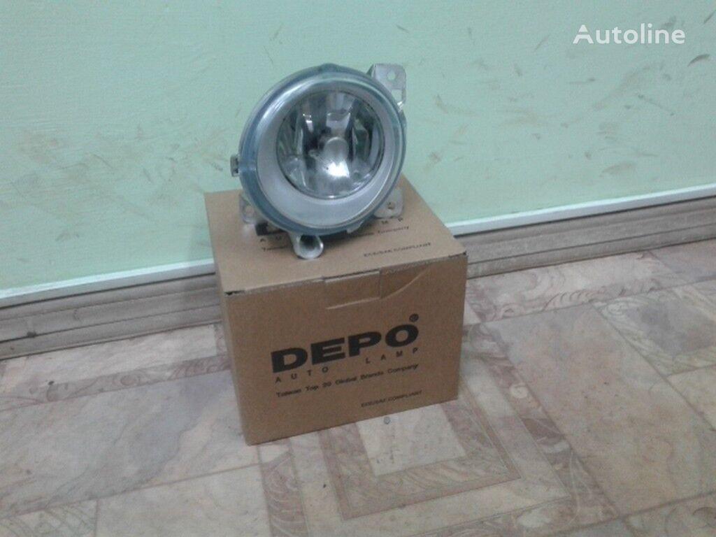 Perednyaya protivotumannaya fara (prav.) Scania (Novyy/Tayvan) headlamp for truck