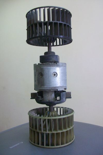 Motor pechki heater radiator for DAF XF,CF tractor unit