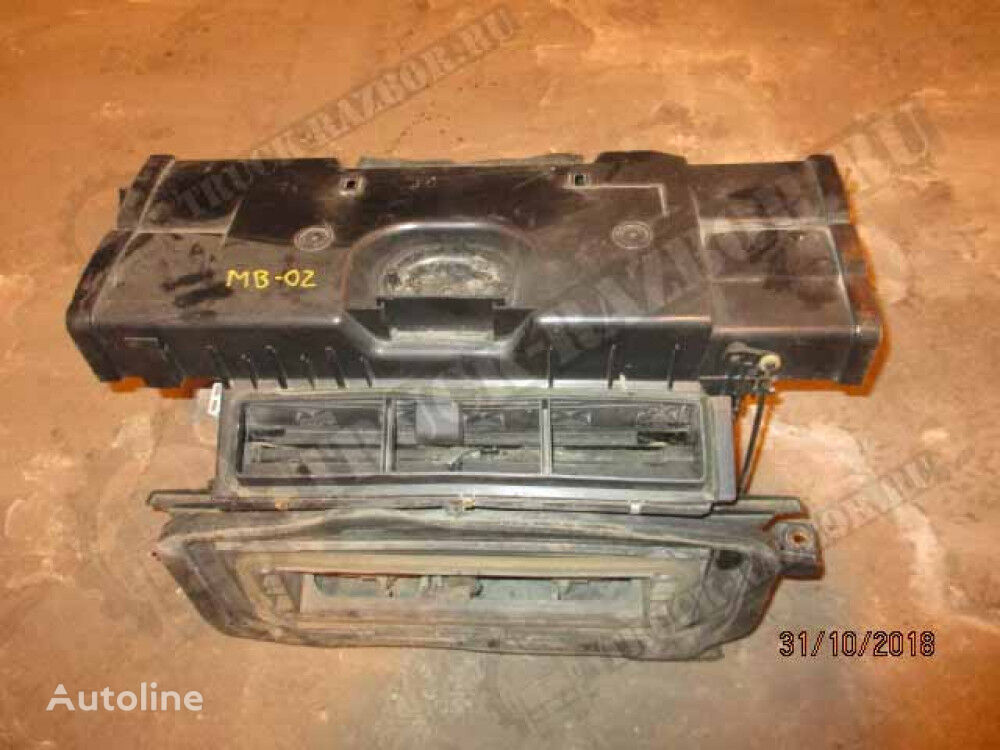 pechka heater radiator for MERCEDES-BENZ tractor unit