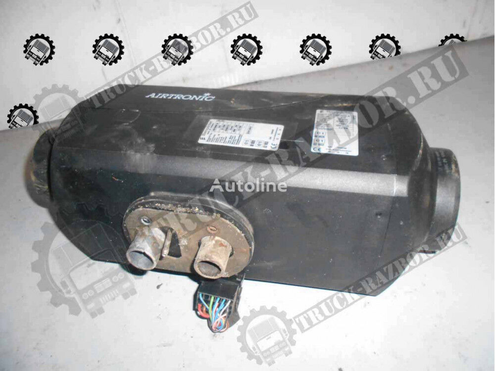 DAF heater for tractor unit