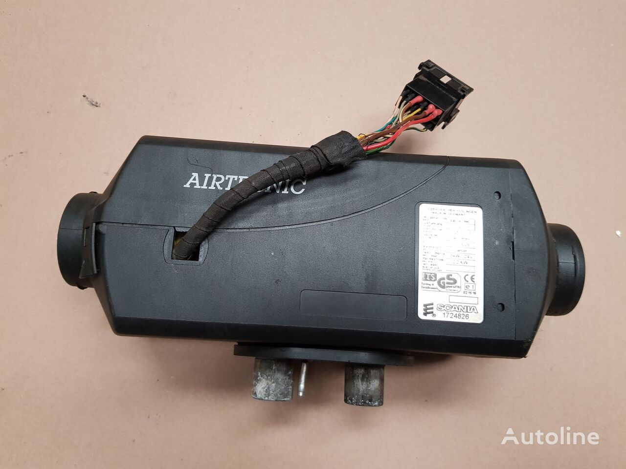 EBERSPACHER AIRTRONIC D2 heater for SCANIA R tractor unit