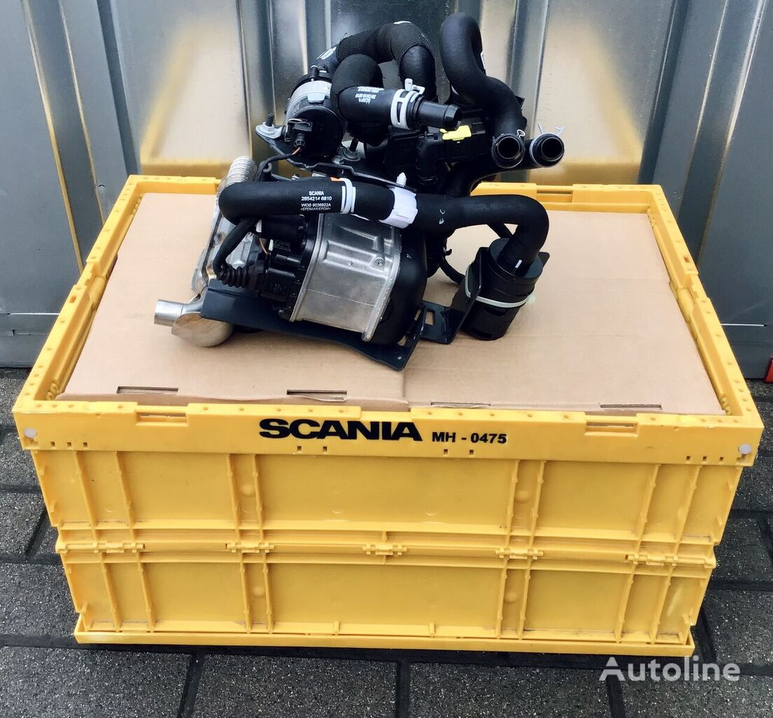 new heater for SCANIA tractor unit