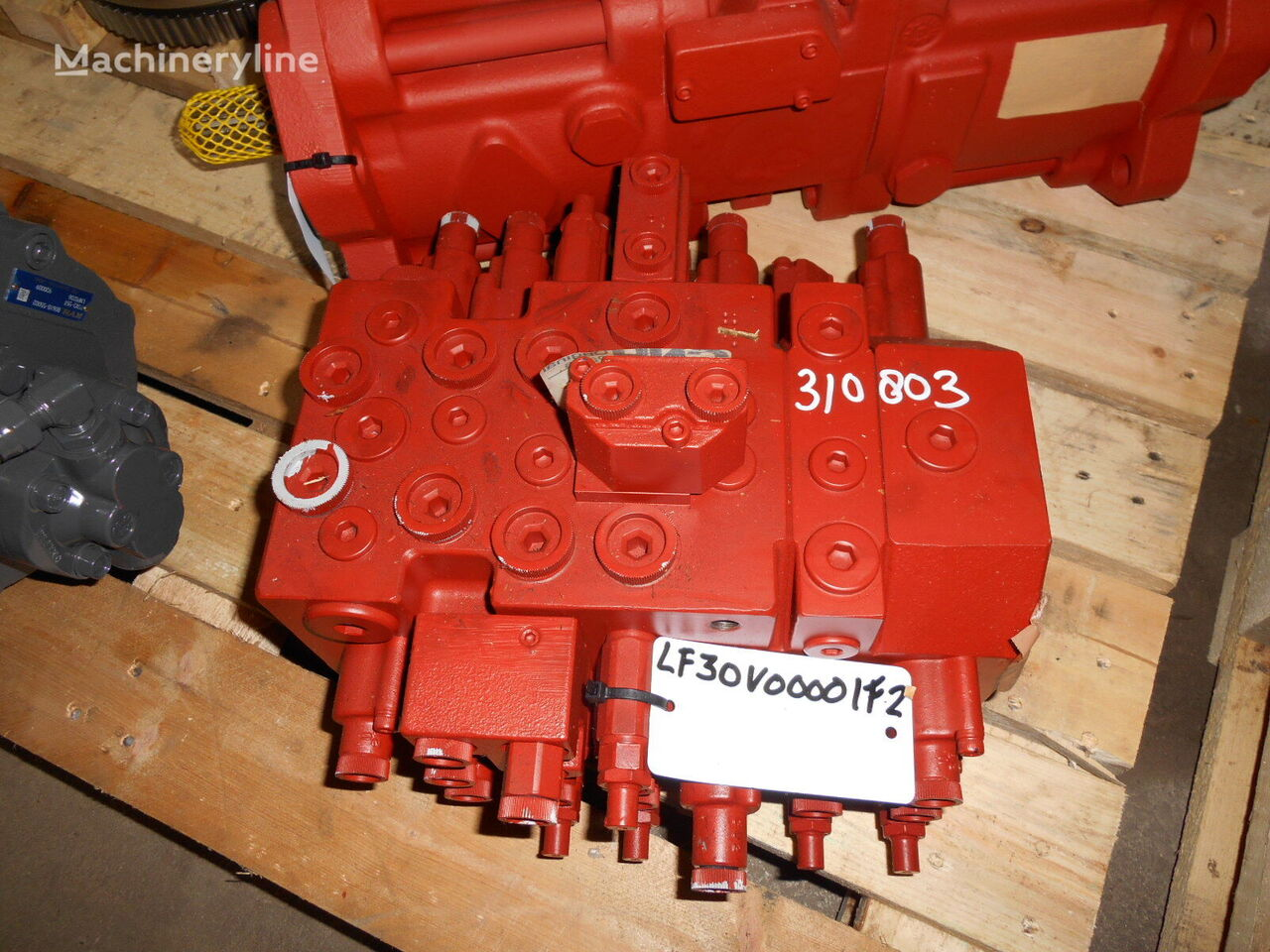 KOBELCO Nabco LC30V00001F2 (LF30V00001F2) hydraulic distributor for KOBELCO SK80CS mini excavator