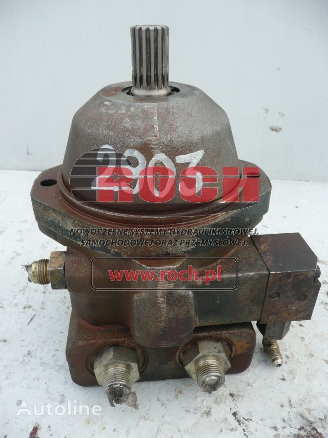 AMMANN A10VE45 hydraulic motor for roller