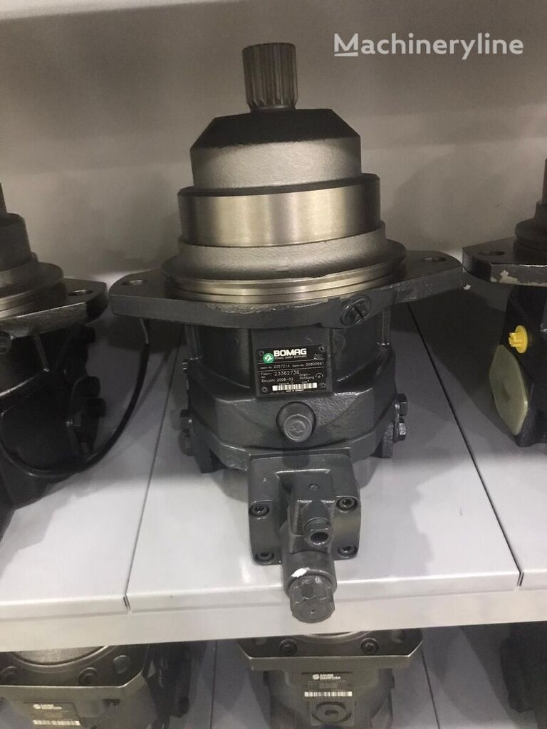 new BOMAG REXROTH (R902057214) hydraulic motor for BOMAG construction roller