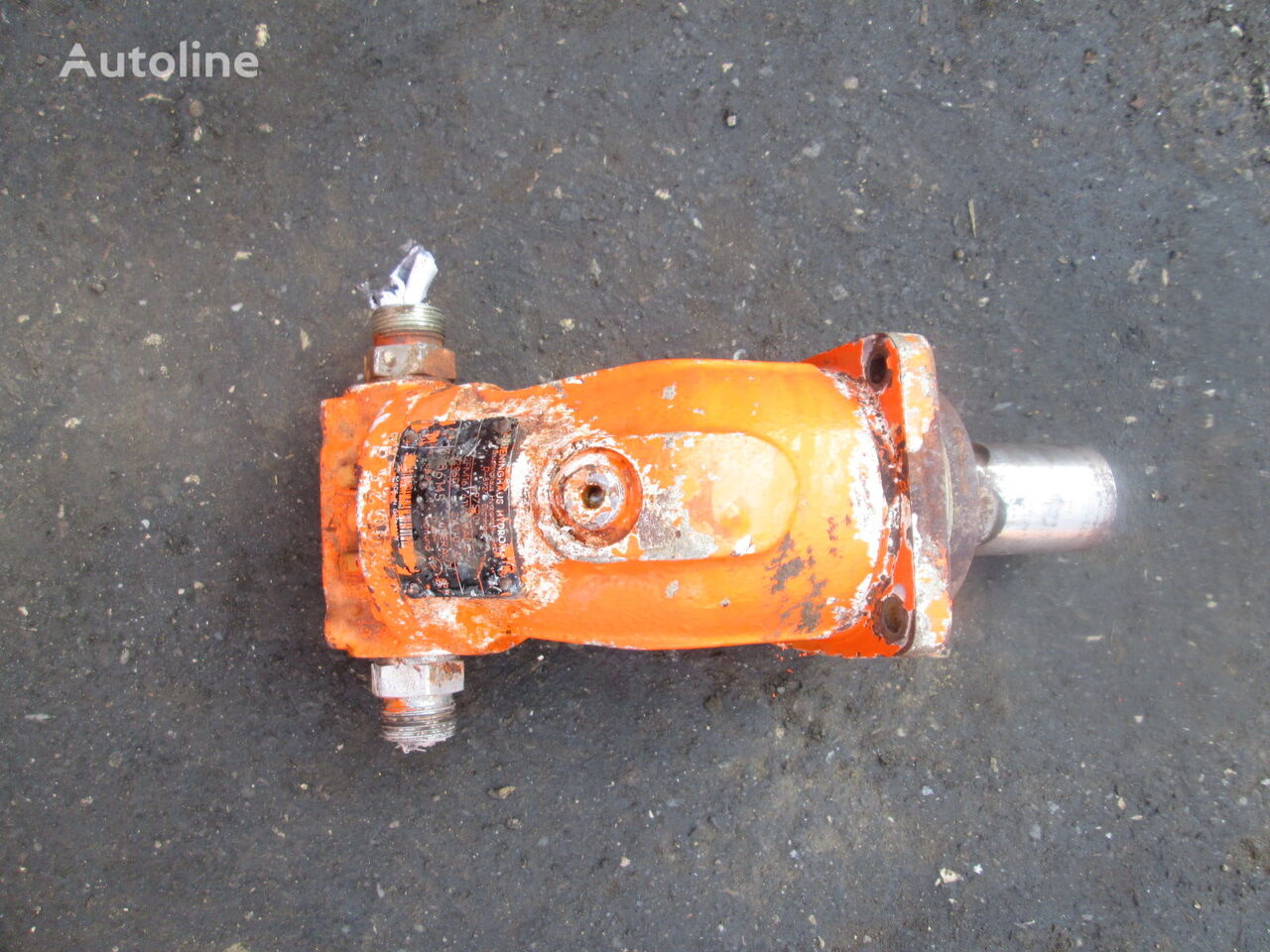 Hydromatik A2FM16 hydraulic motor for construction roller
