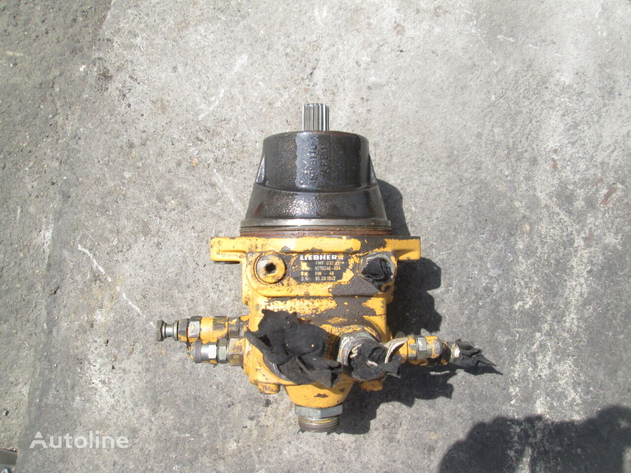 LIEBHERR FMF032 hydraulic motor for wheel loader