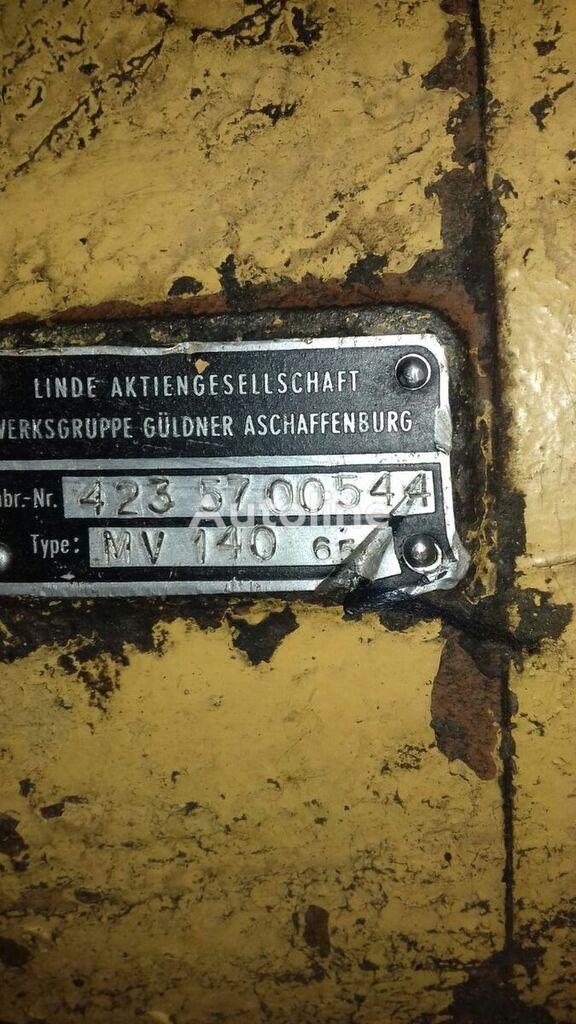 LINDE MV 140 - 65 hydraulic motor for LIEBHERR PR 731 bulldozer