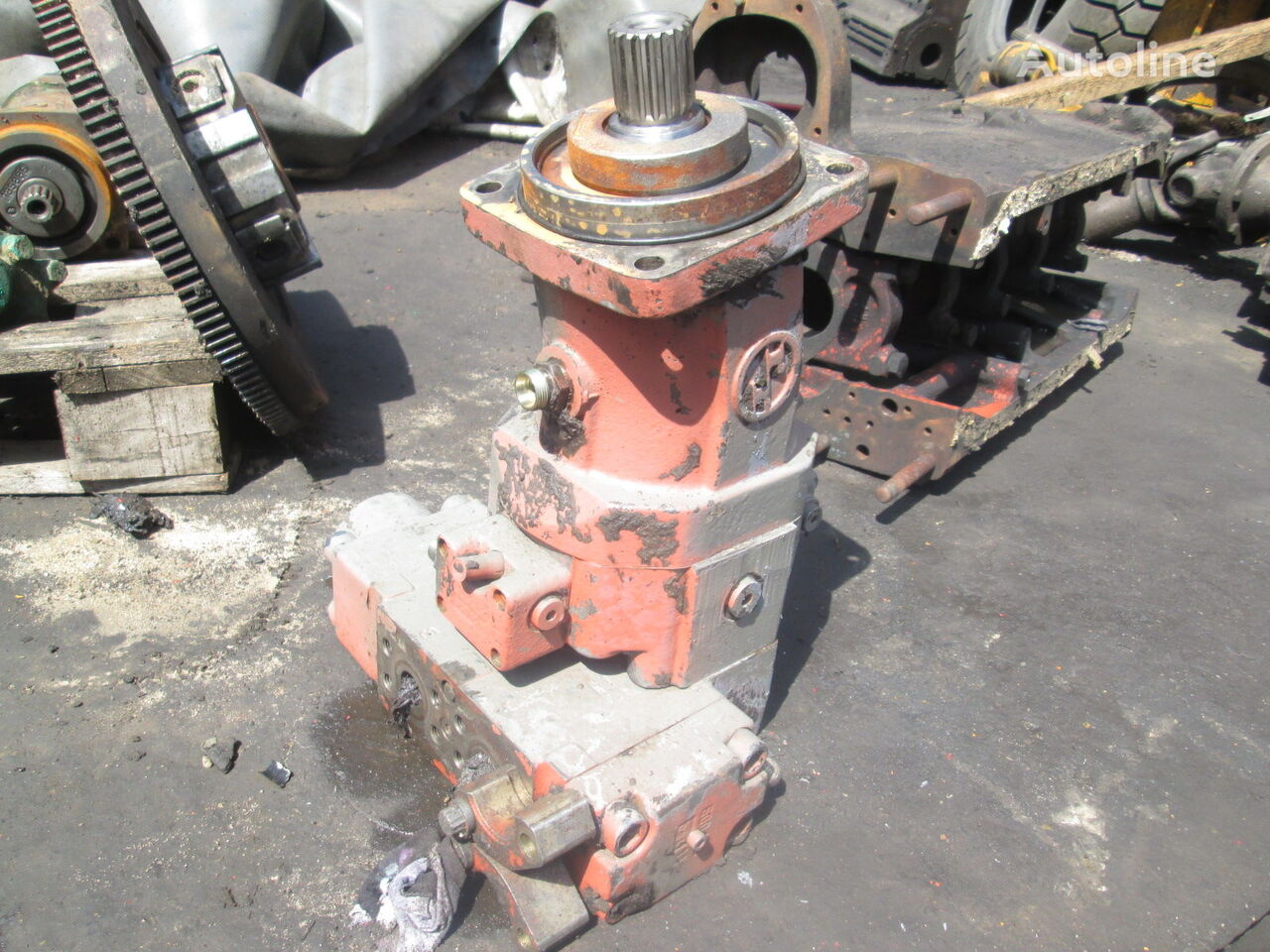 O&K 1780333 hydraulic motor for excavator