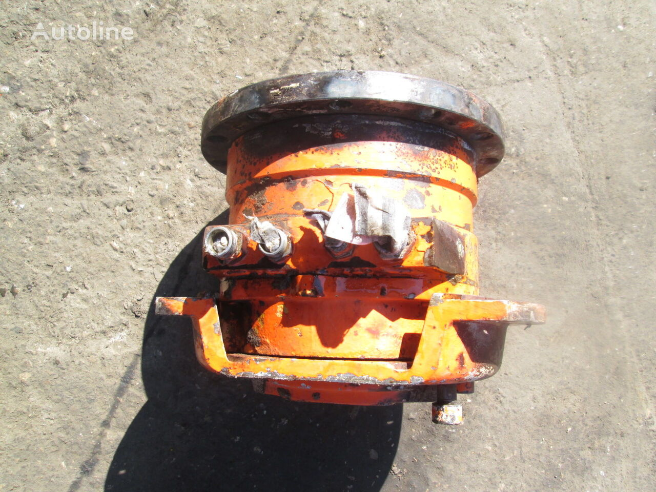 Poclain MC08 hydraulic motor for HAMM construction roller