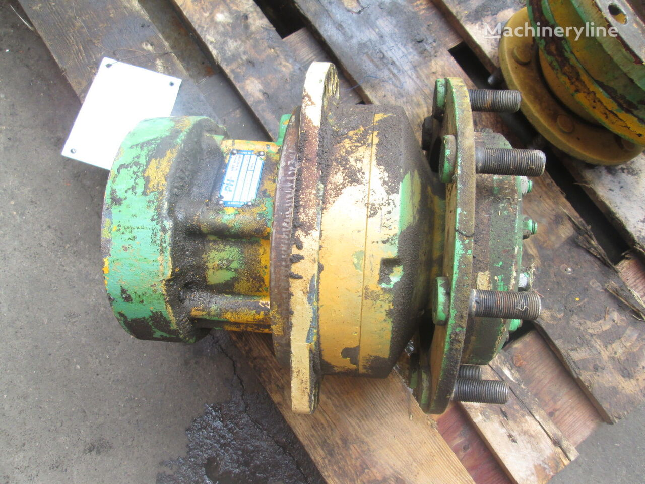 Poclain MS08 hydraulic motor for HAMM roller