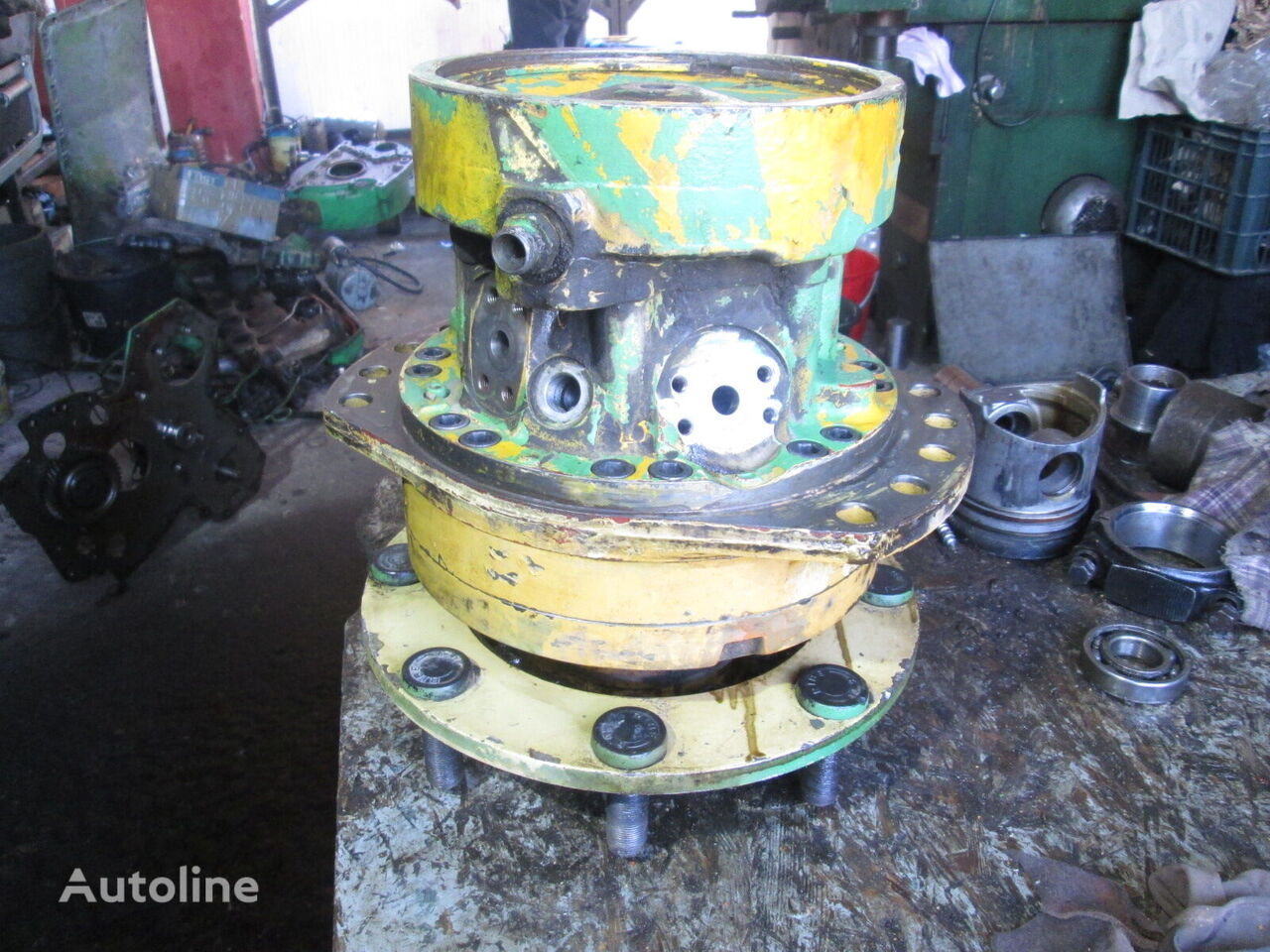 Poclain MS08 hydraulic motor for construction roller
