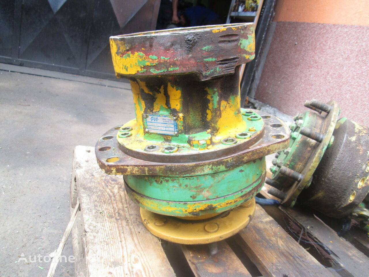 Poclain PH MS11 hydraulic motor for HAMM construction roller