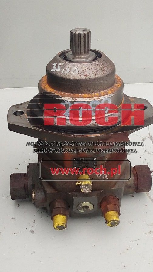 new Rexroth A6VE55 hydraulic motor for backhoe loader