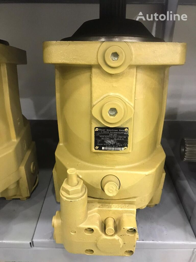 new Rexroth -A6VM160HD1E/63W-VZB010B (R909610364) hydraulic motor for BAUER drilling rig