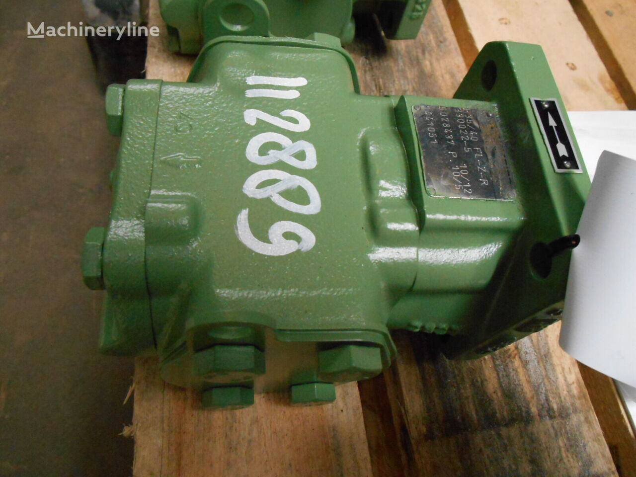 Rickmeier R35/40 FL-Z-R hydraulic motor for other construction machinery