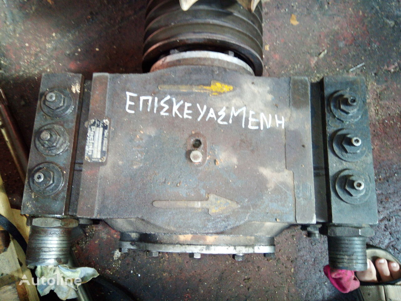 hydraulic pump for POCLAIN LY80 excavator