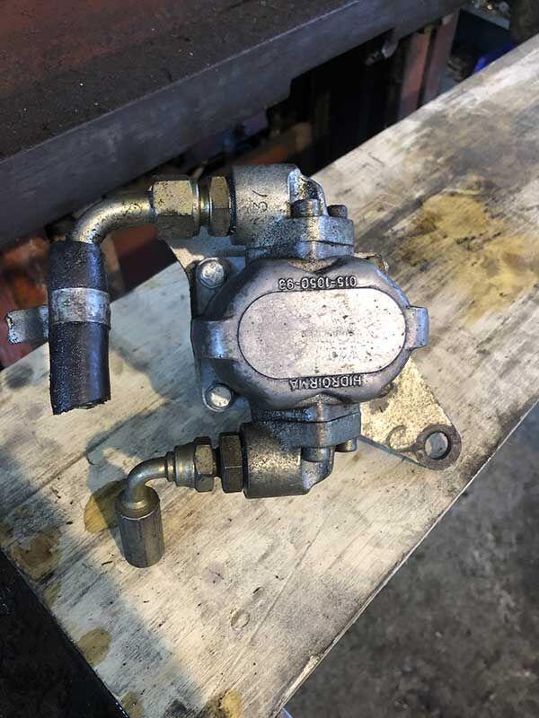 hydraulic pump for Gianni Ferrari lawn tractor