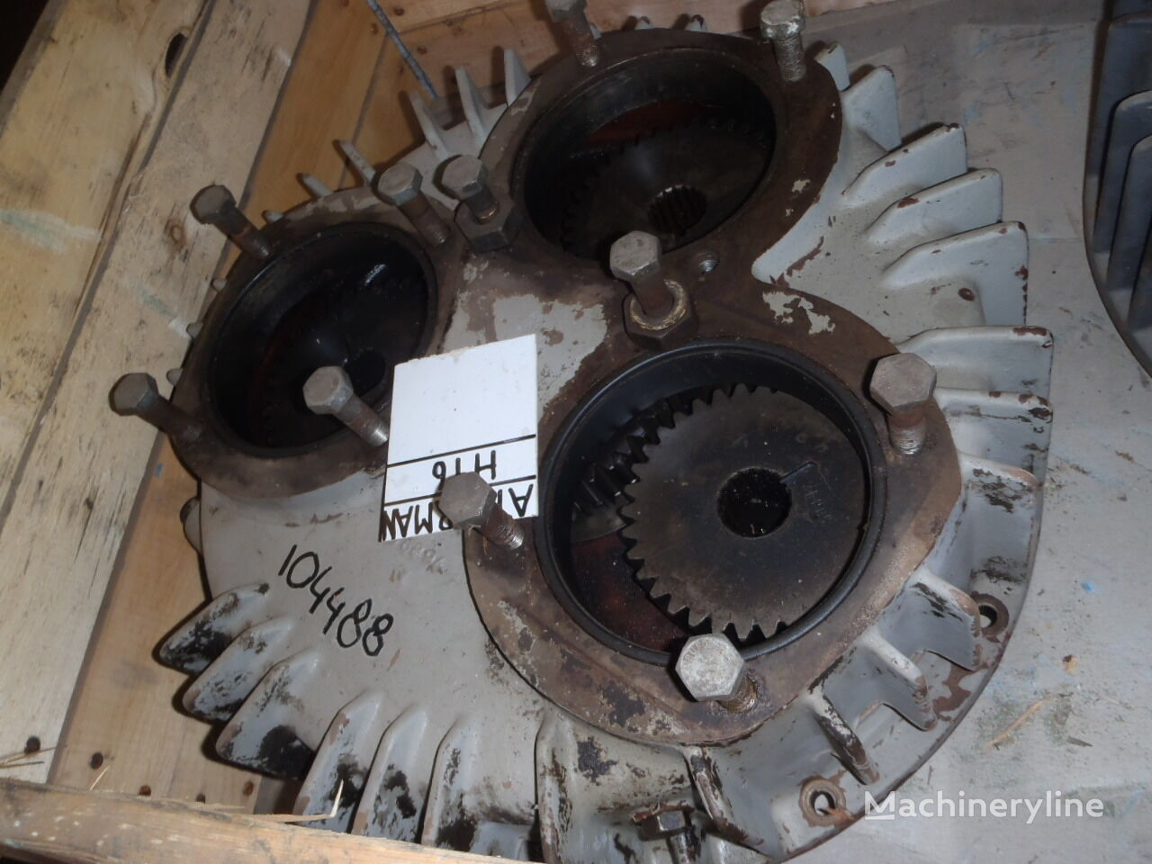 AKERMAN hydraulic pump for AKERMAN H16 excavator