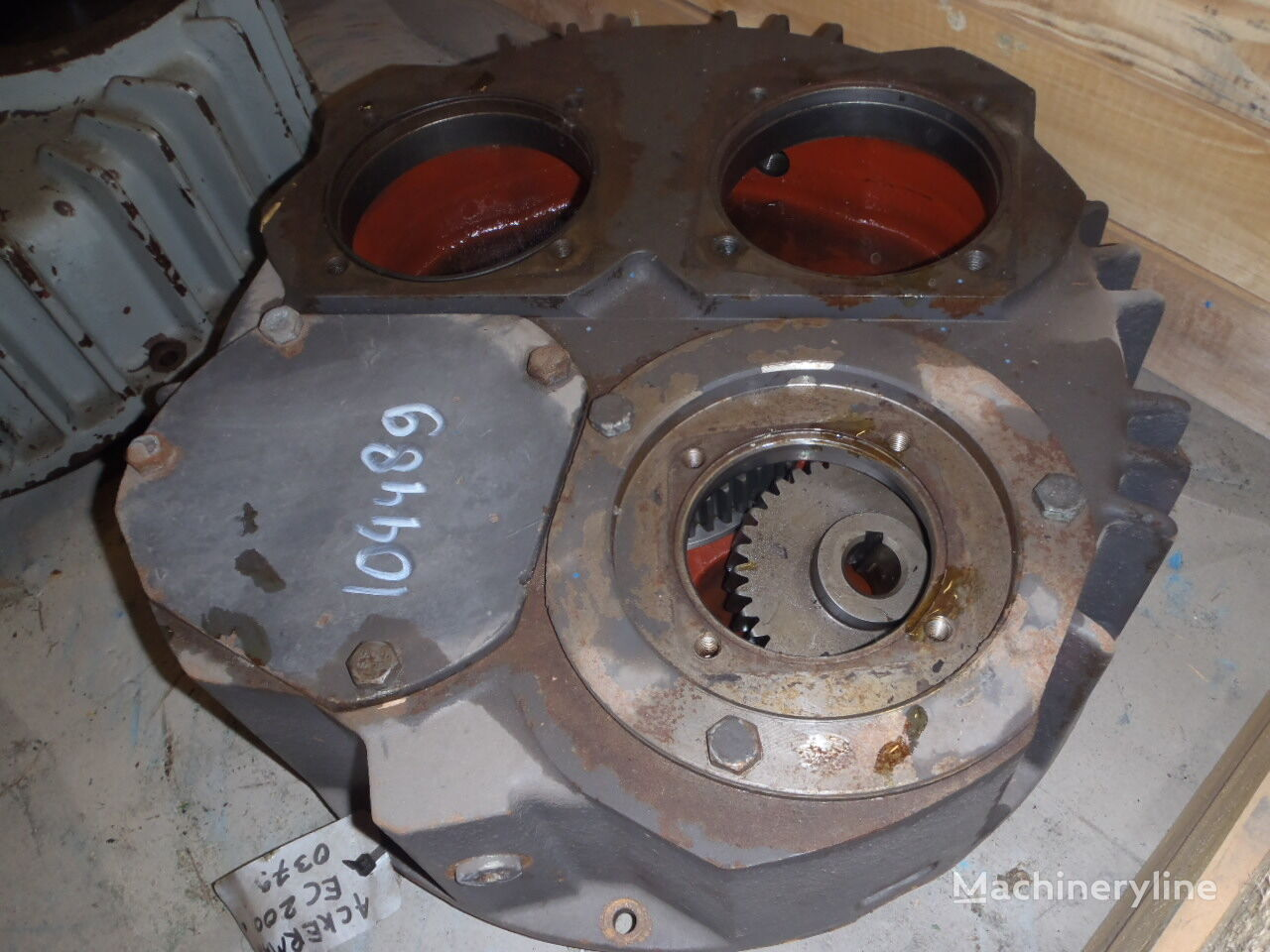 hydraulic pump for AKERMAN EC200 excavator