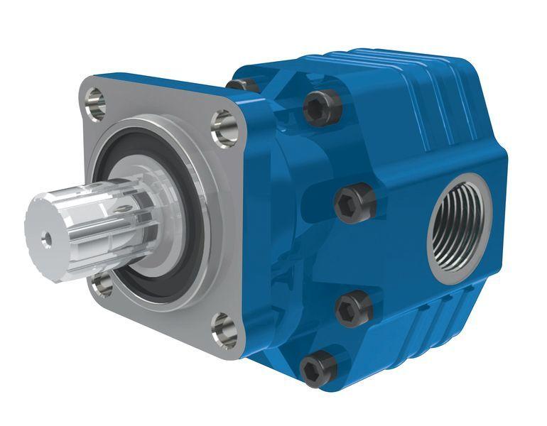 BINNOTTO Italiya ISO 82 l na 4 bolta.Gidravlika dlya samosvala hydraulic pump for tractor unit