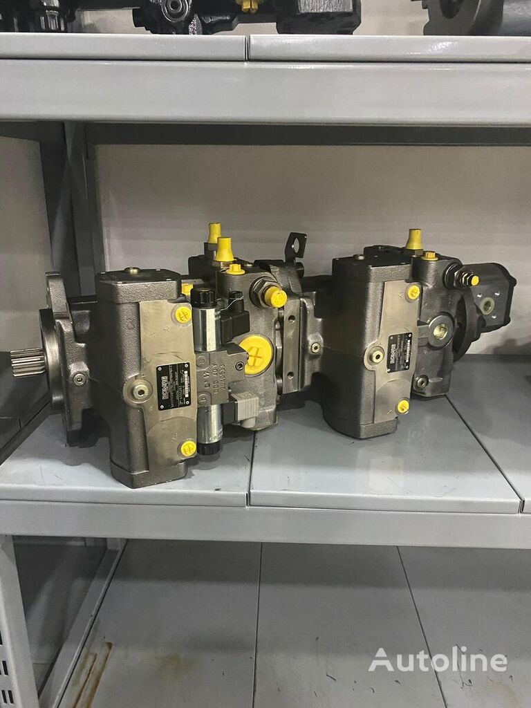 new hydraulic pump for BOMAG construction roller