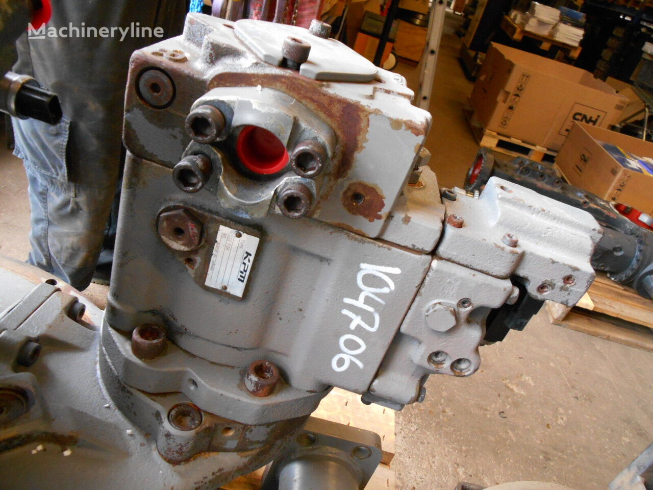 HITACHI Kawasaki K3V63S-102R-1F29 hydraulic pump for HITACHI ZX520LC-3 excavator