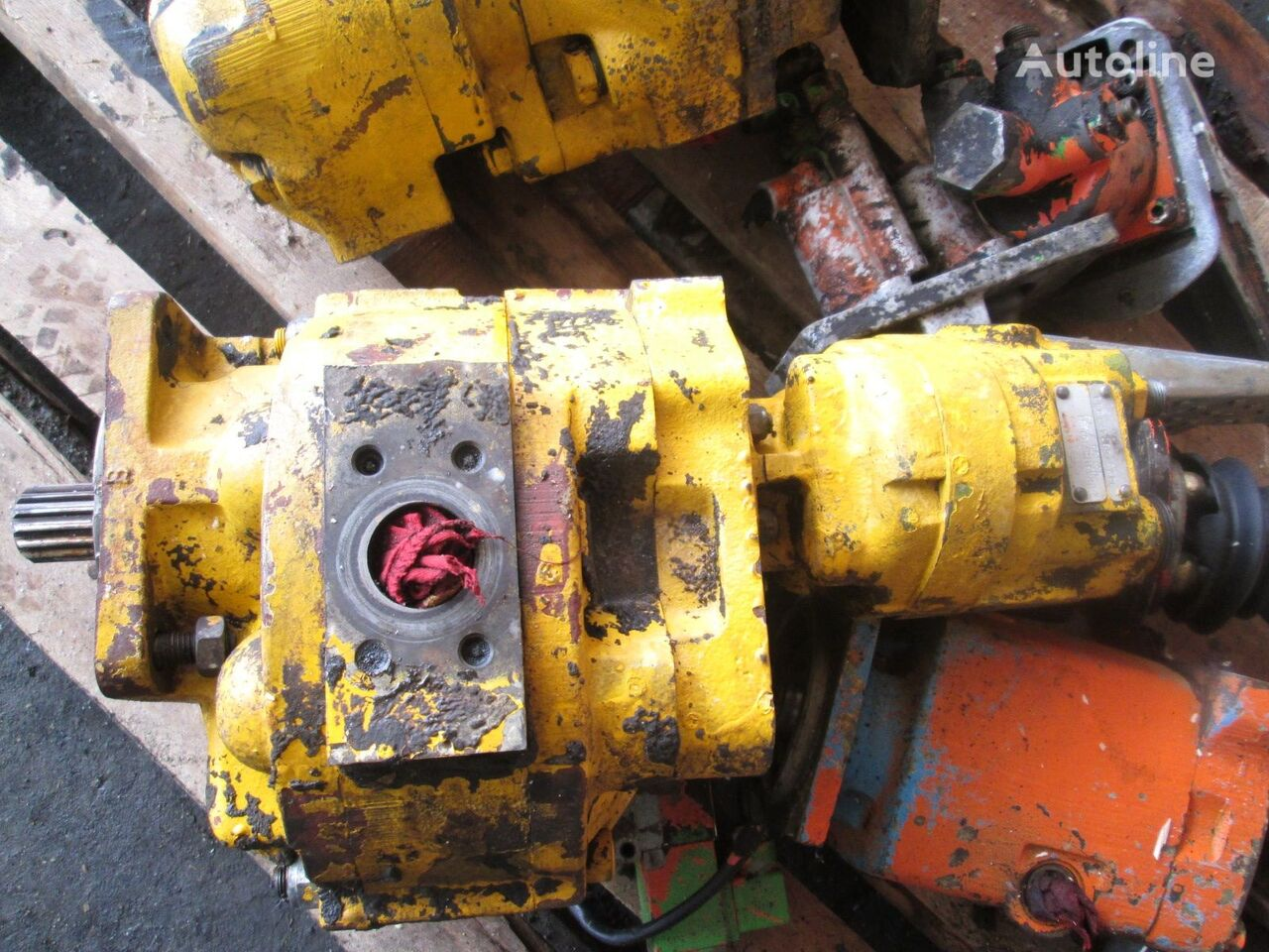 Hydreco P2A3115 hydraulic pump for wheel loader