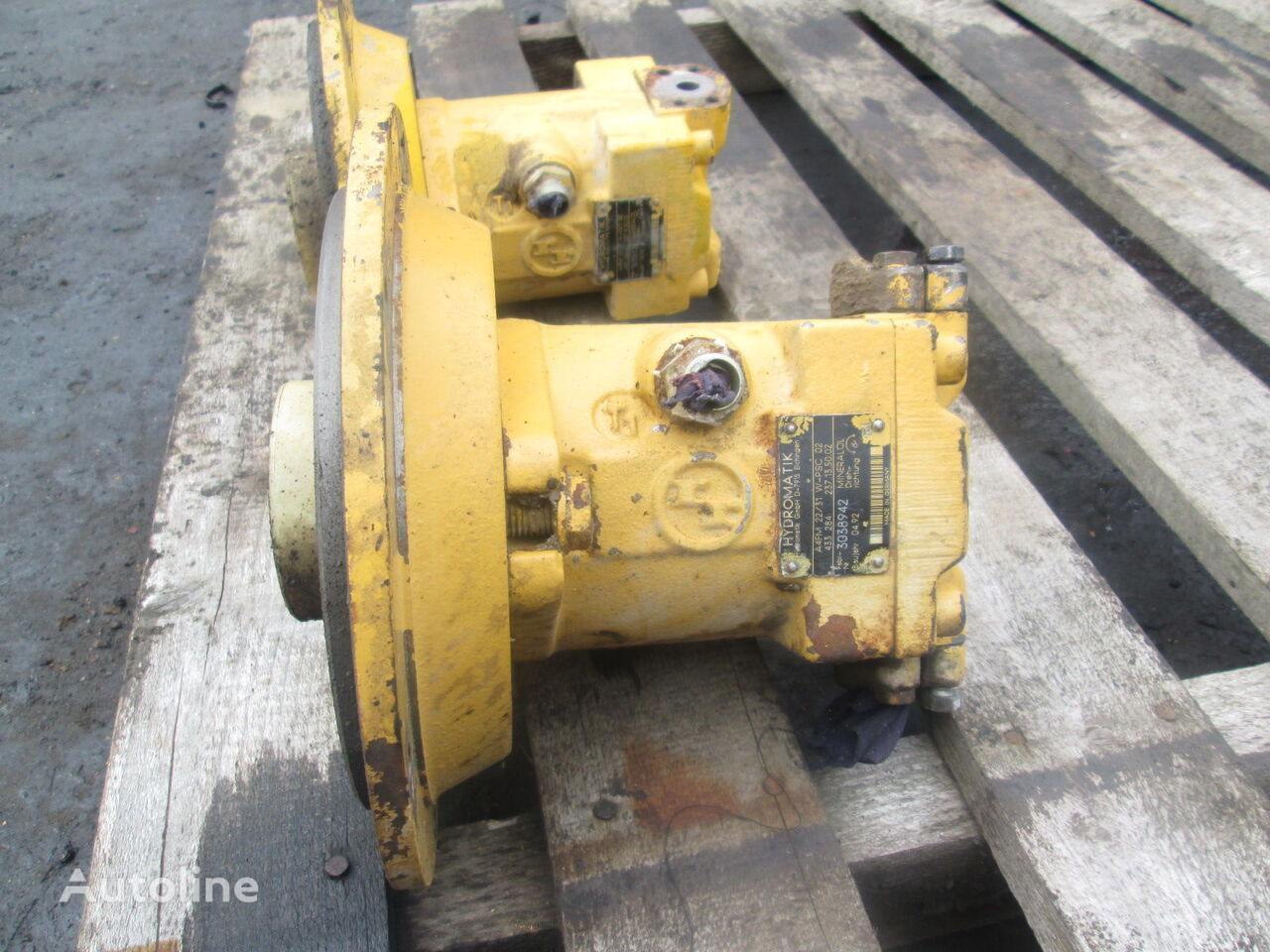 Hydromatik A4FM22 hydraulic pump for construction roller