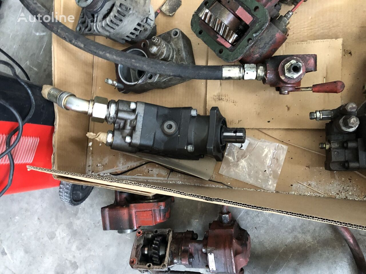 hydraulic pump for IVECO MAN MERCEDES VOLVO DAF SCANIA truck