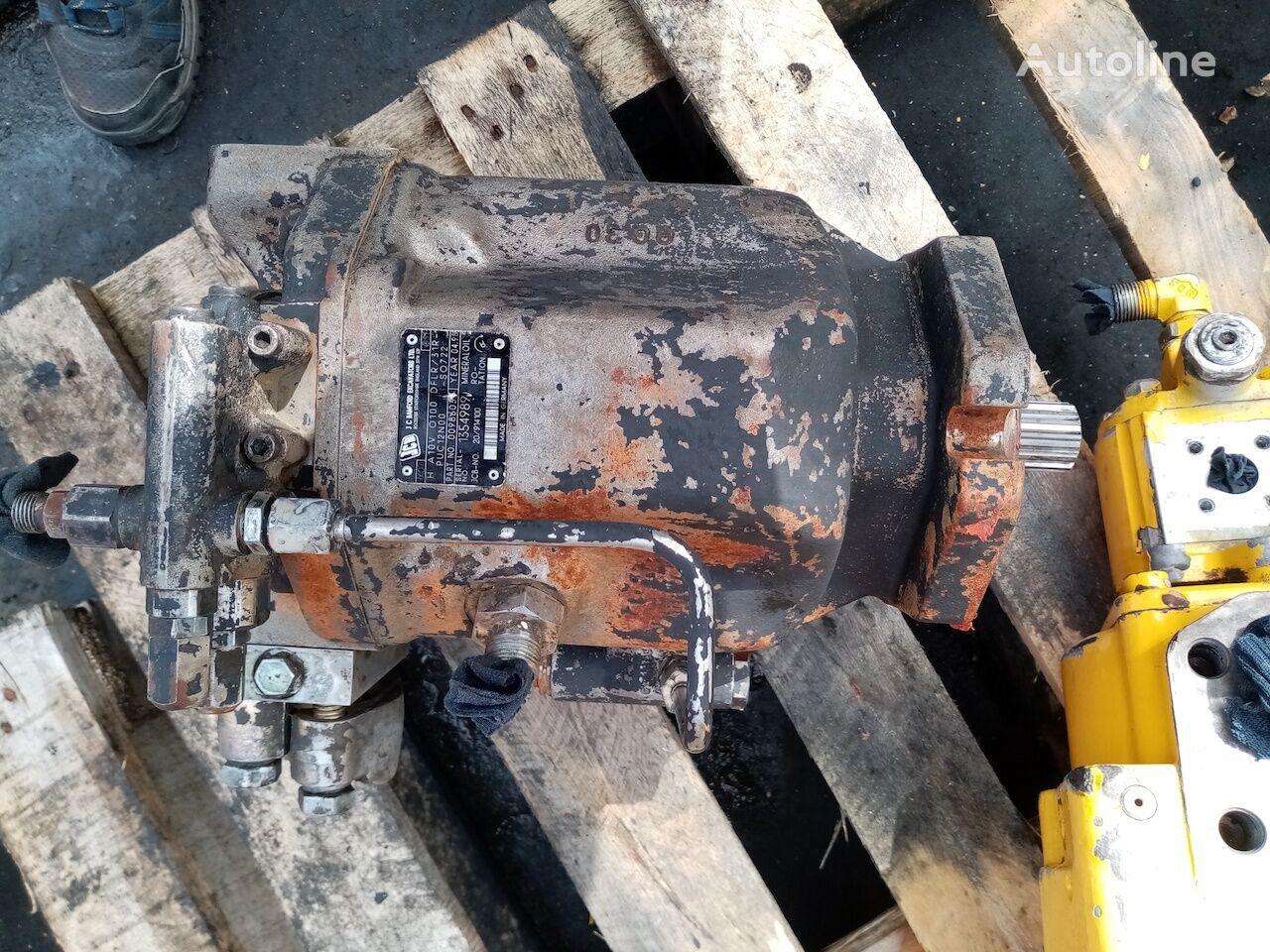 JCB H A10VO100DFLR hydraulic pump for wheel loader