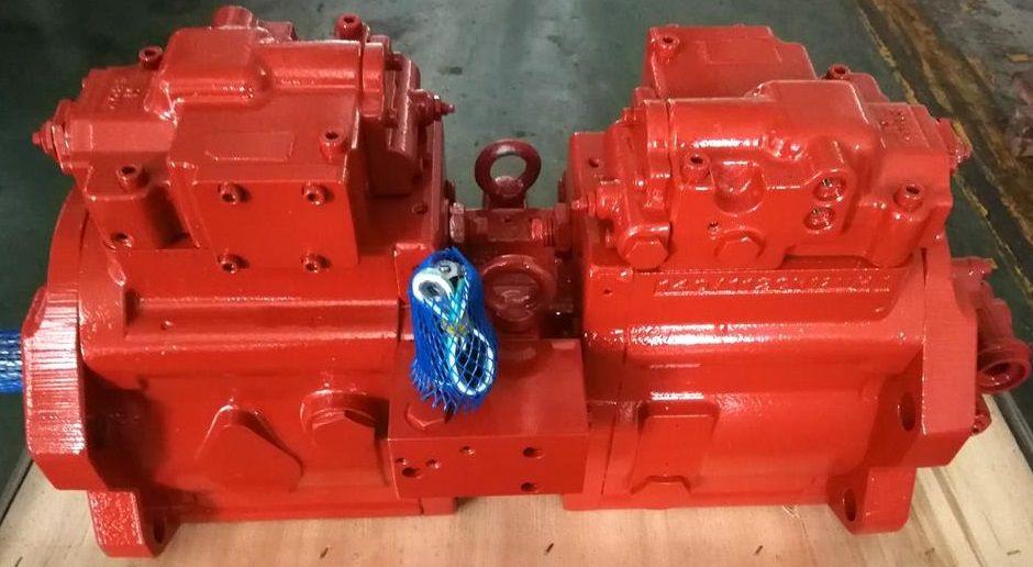 new KAWASAKI K3V112DT-1GMR-9C79+F hydraulic pump for JCB JS220 excavator