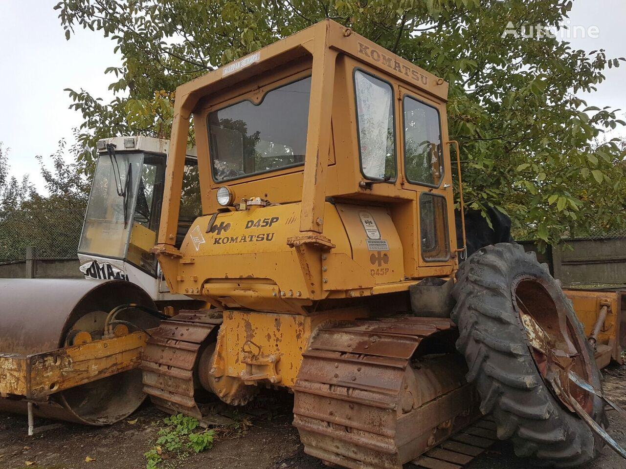 hydraulic pump for KOMATSU D45P bulldozer
