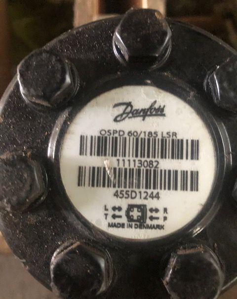 Sauer-Danfoss Orbitrol ospd 60/185 lsr hydraulic pump for MERLO telehandler