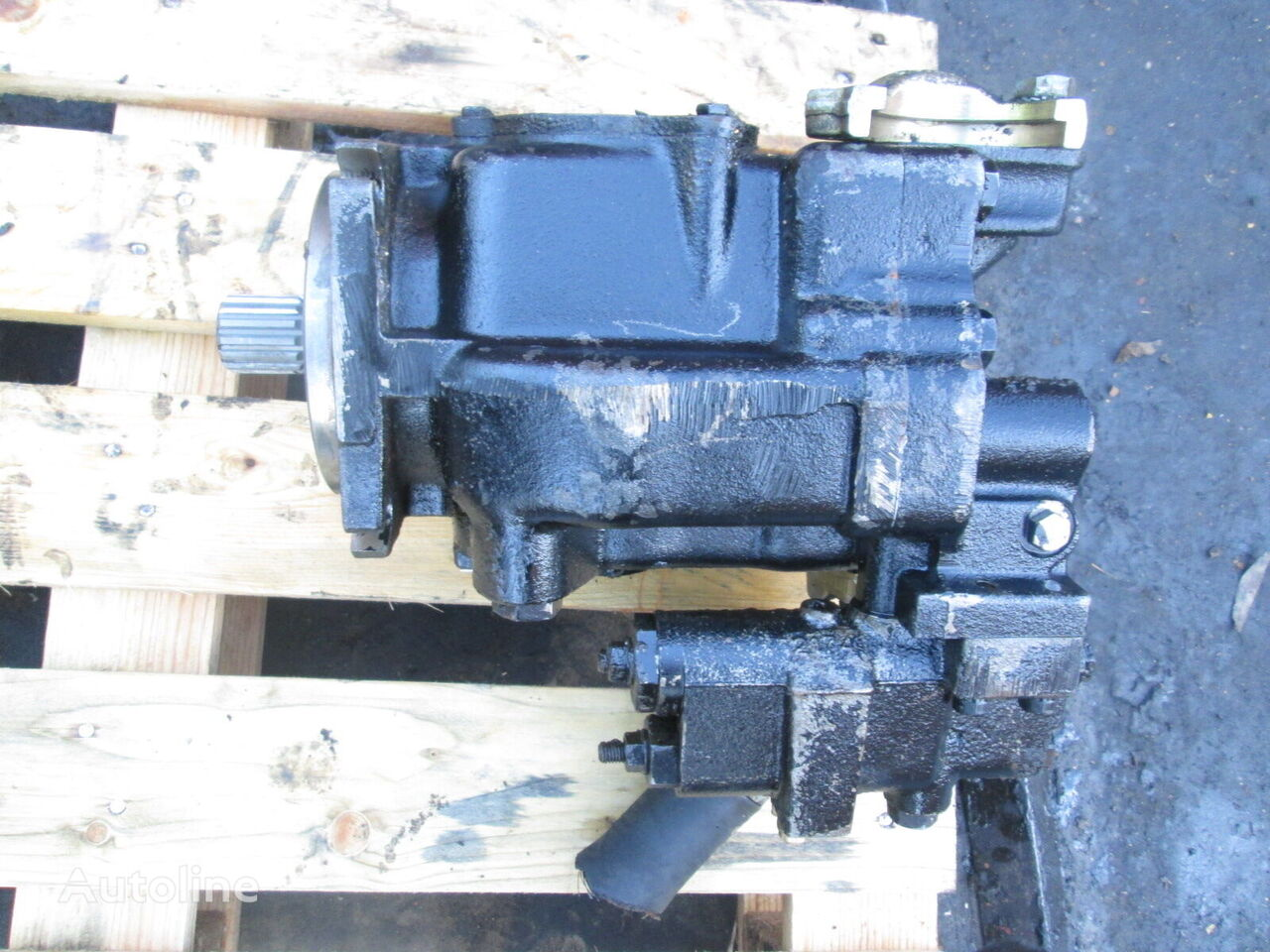 Vickers PVH57C hydraulic pump for wheel loader