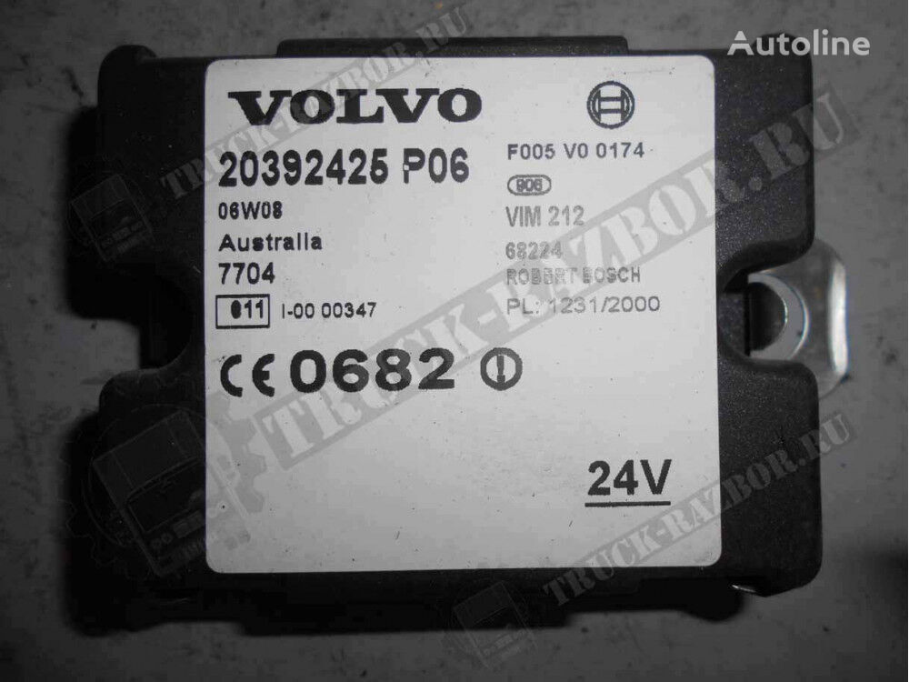 VOLVO immobilayzer (21500607) immobiliser for VOLVO tractor unit