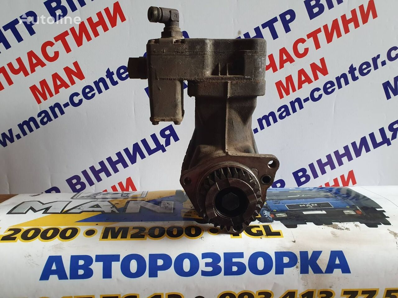 MAN Razborka MAN TGL TGL injection pump for MAN Razborka TGL zapchasti b.u  truck