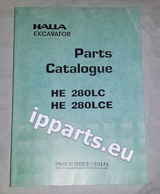 HALLA parts book katalog czesci parts manual teile IPPARTS instruction manual for HALLA  220 Halla 280 Halla 360 excavator