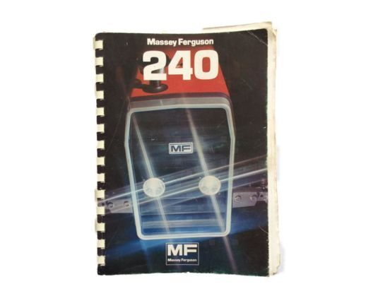 Tracteur 200 instruction manual for MASSEY FERGUSON tractor