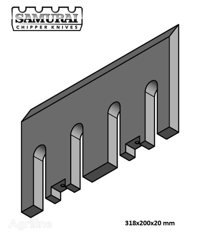 new knife for DUTCH DRAGON, Axsel, Dutch Dragon EC 10045, EC 10045, Dutch Dragon EC9045, AX6545L, AX10045  wood chipper