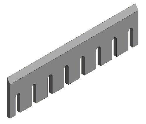 CBI knife for CBI wood chipper