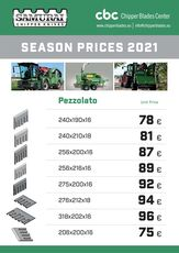 new knife for Pezzolato PTH wood chipper