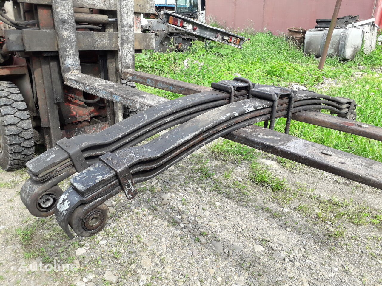 leaf spring for MAN TGA tractor unit