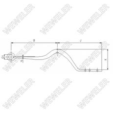 new 017456.1103482 (F001A037KC75) leaf spring for SCHMITZ CARGOBULL MRH  semi-trailer
