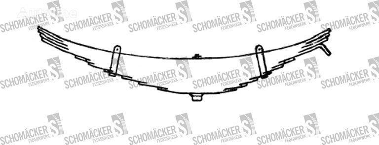 new ROR (Nr OE: 21017682) leaf spring for semi-trailer