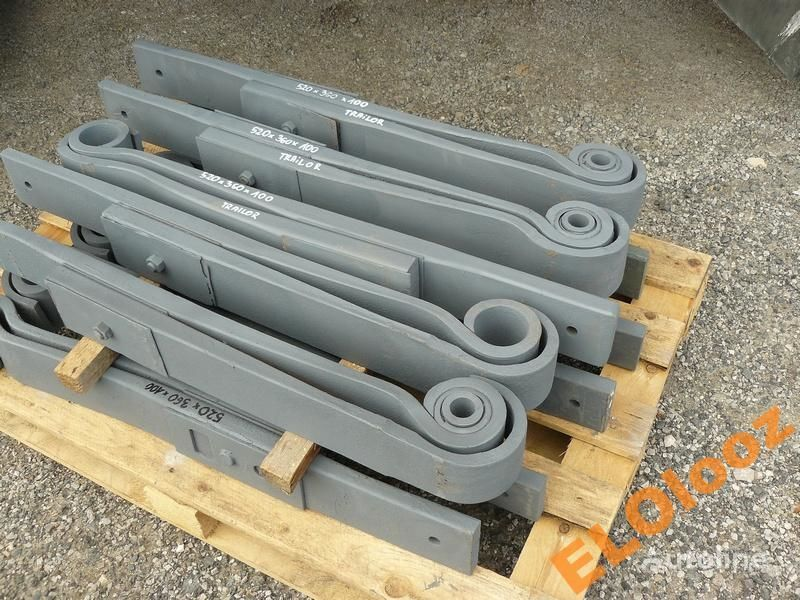 leaf spring for PÓŁ 520x360x100 TRAILOR truck