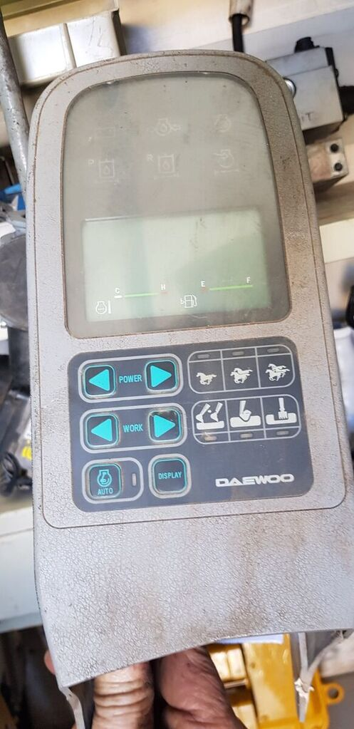 Controlador Daweoo 2539-1068 Solar - LCD monitor for excavator