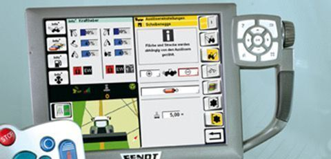 Smart Farming Monitor monitor for FENDT tractor