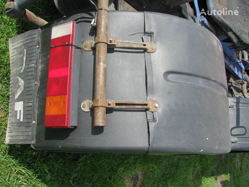 Podkrylki mudguard for DAF tractor unit